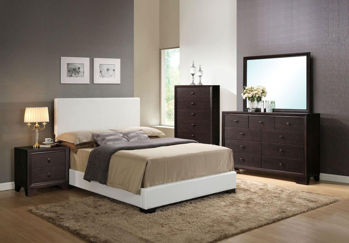 ireland white wood bedroom set  kfrooms  free delivery