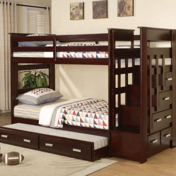 allentown espresso bunk bed