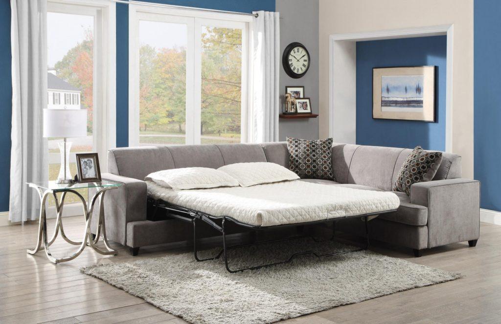 Tess grey sleeper sofa