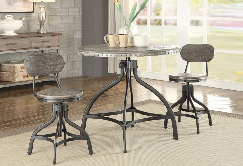 Fatima II Industrial Counter Height Dining Set | KFROOMS | Furniture sale
