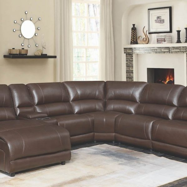 600357 mackenzie sectional sofa coaster