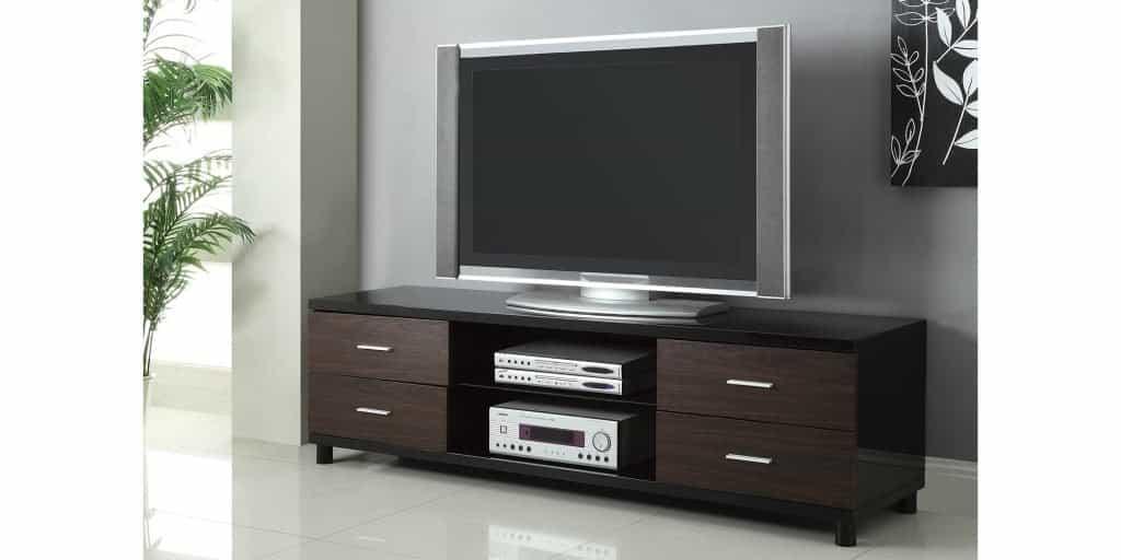 TV stand at KFMiami