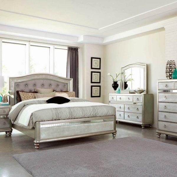 platinum bedroom set 204181KW
