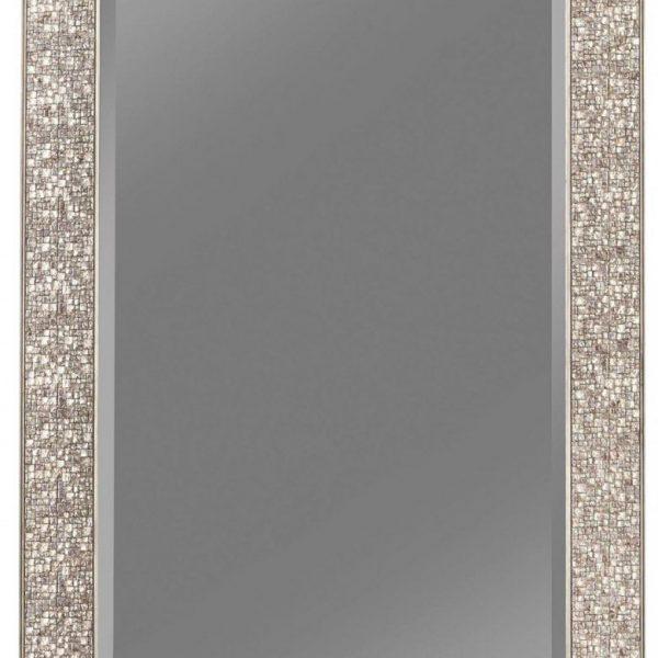 901997 silver coaster mirror