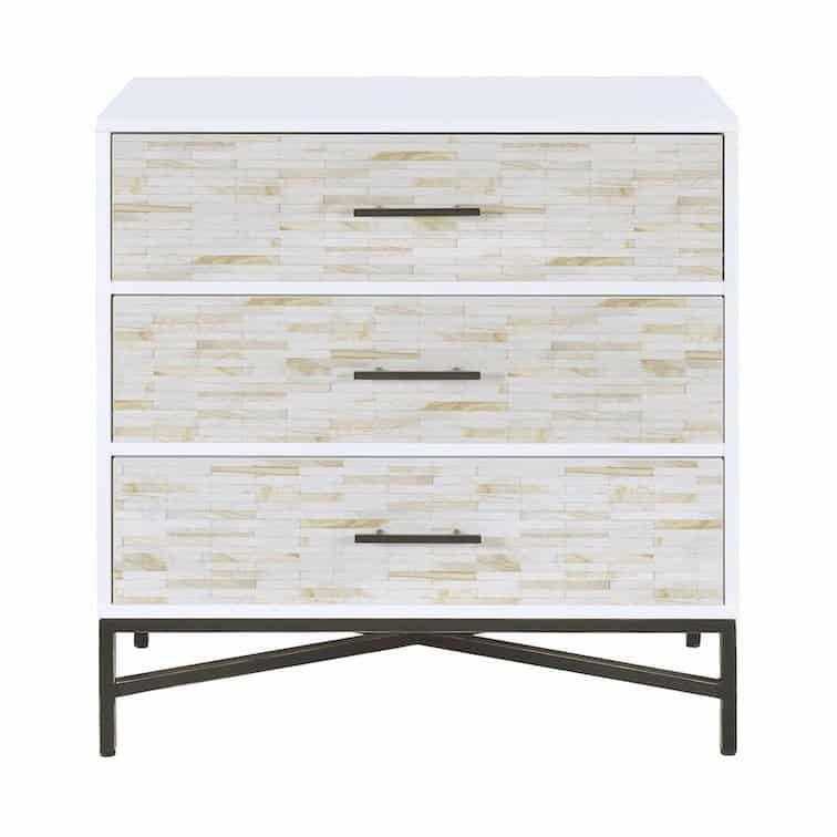 uma white console table acme 97452_AV5