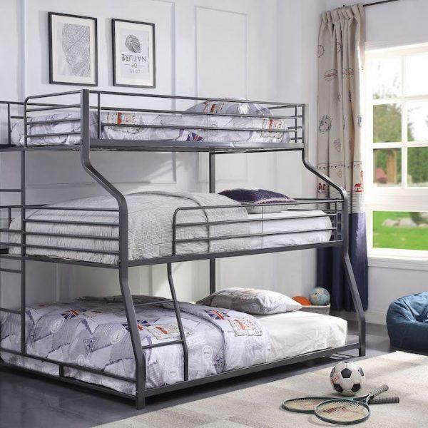 caius II triple bunk bed 37450