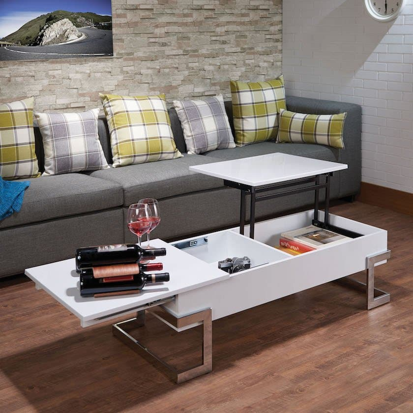 calnan white coffee table 81850_AV_LIFT