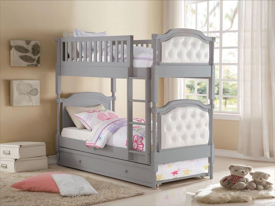 pearlie acme twin bunk bed 37690+37693