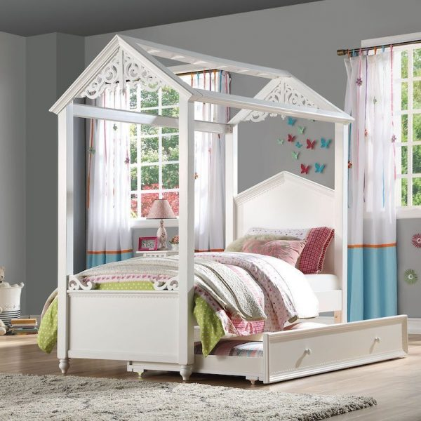 rapunzel kids youth bed acme 37350T+37348