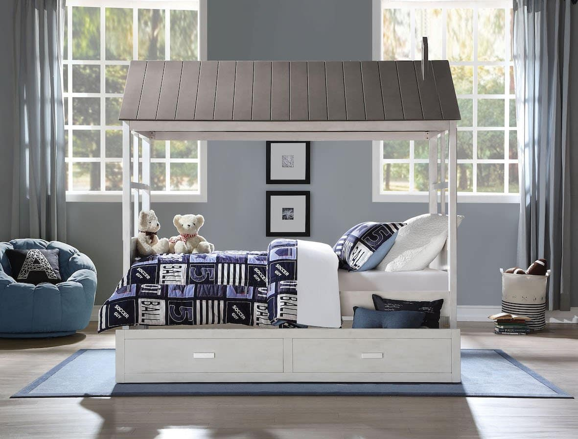 tree house acme twin bed 37170T+37173