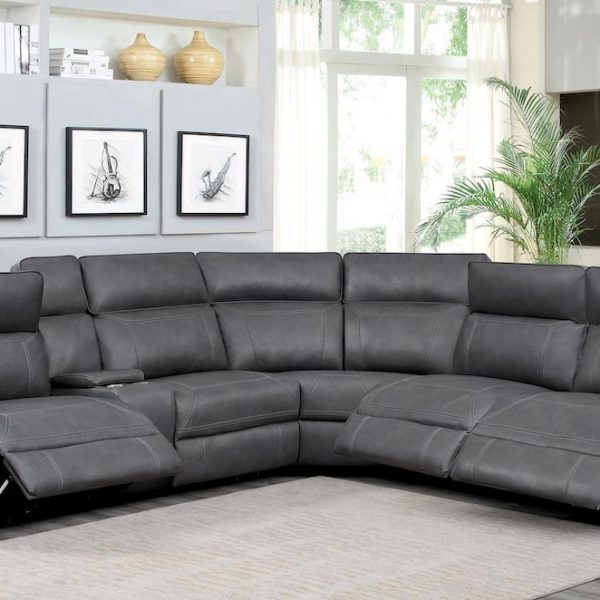 albany grey leather sectional 603270PP_20