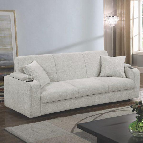 heideck sleeper sofa bed coaster 360116