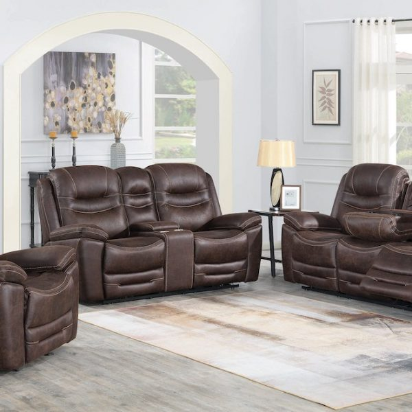 hemer chocolate living room set coaster 603331PP-S3
