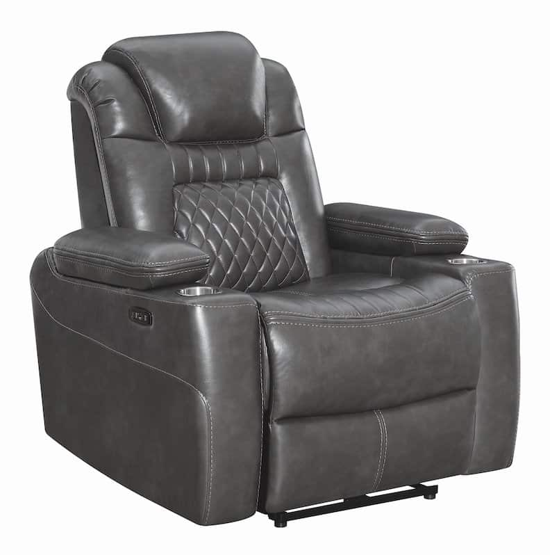korbach charcoal recliner chair 603414PP-S3_1b