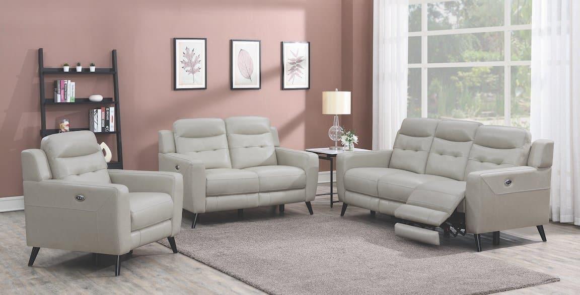lantana beige living room set 603381P-S3
