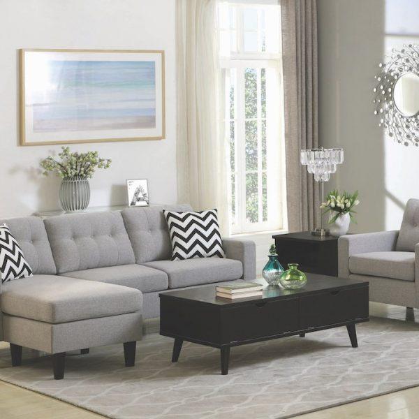 metro sectional sofa chair 508688LGR_20
