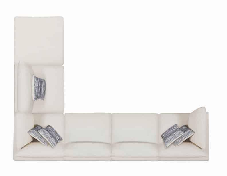 serene coaster sectional beige 551321_7a