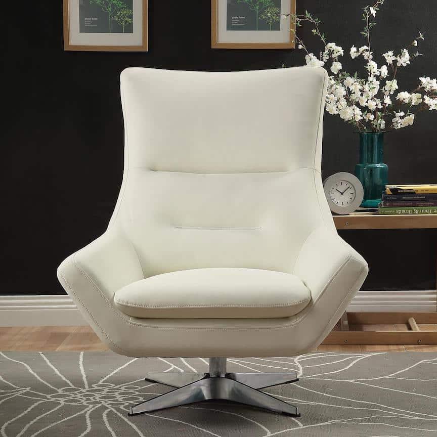 eudora white accent chair 59730_AV