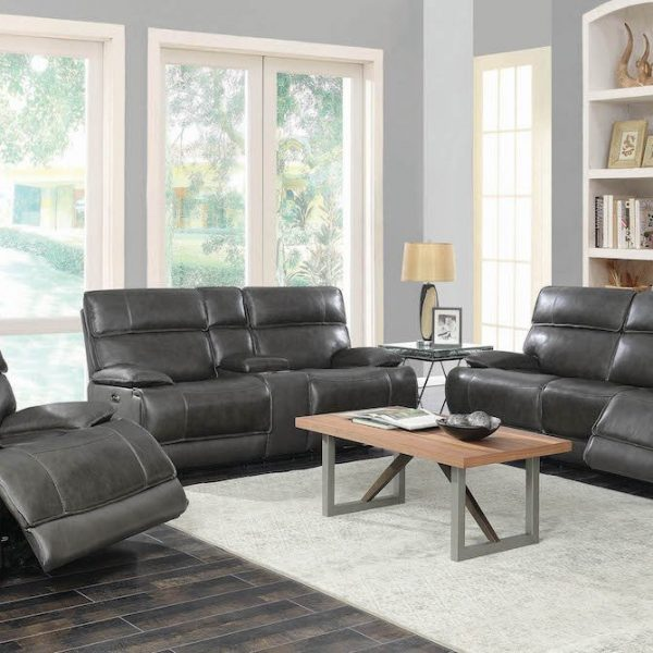 stanford coaster reclining top grain leather 650222PPB