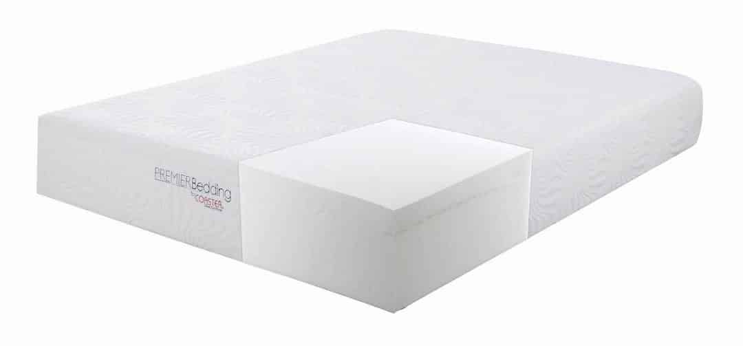 350065KE_1 Ian memory foam mattress coaster