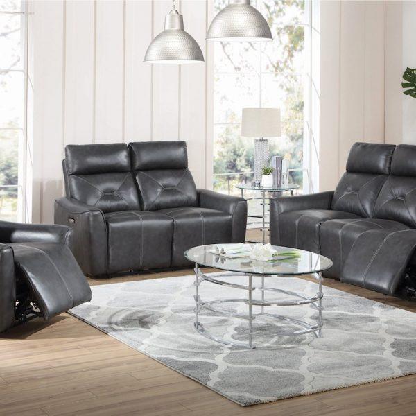 Jupiter Power Reclining Living room set 603241