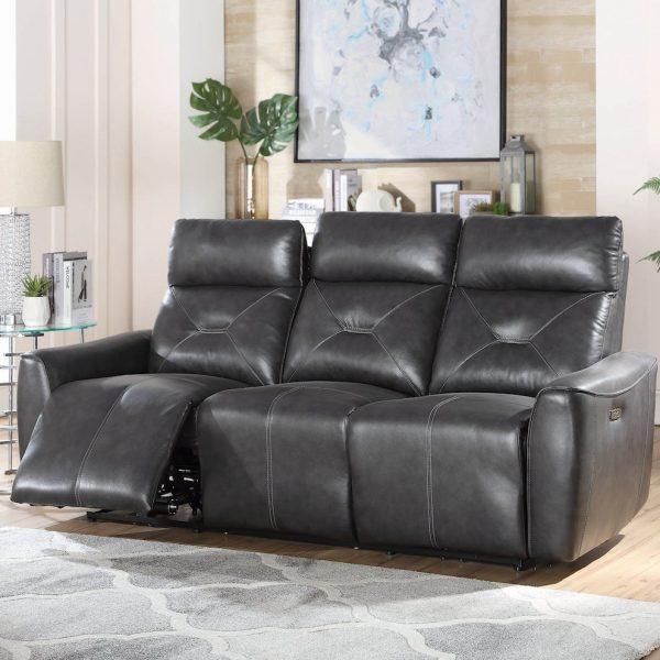 Jupiter Power Reclining Living room set leather sofa 603241