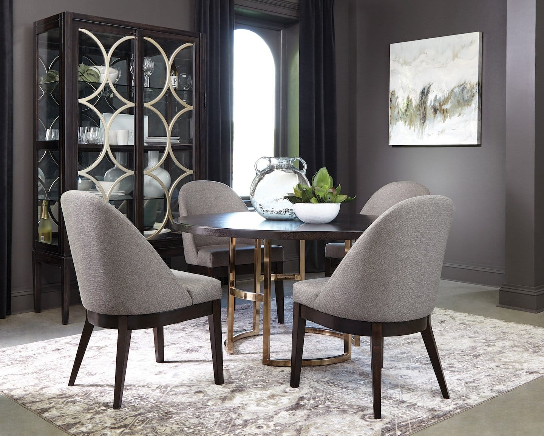 Benton Mod Glam Dining Set | KFROOMS | Furniture Sale