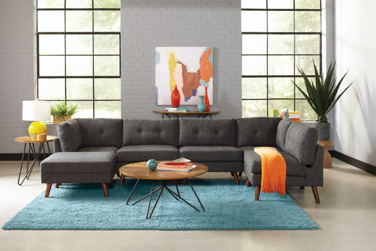 churchill mid century grey coaster sectional sofa 551402_22
