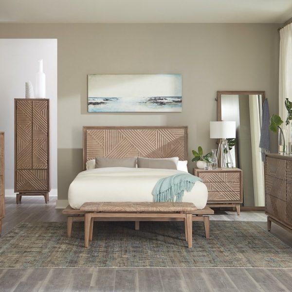 vanowen coaster wood bedroom set queen king 223050Q-S4_21RS