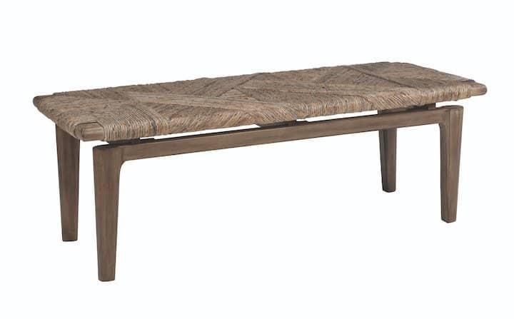 vanowen coaster wood bench 223056_1
