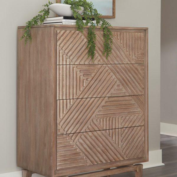 vanowen coaster wood chest 223055
