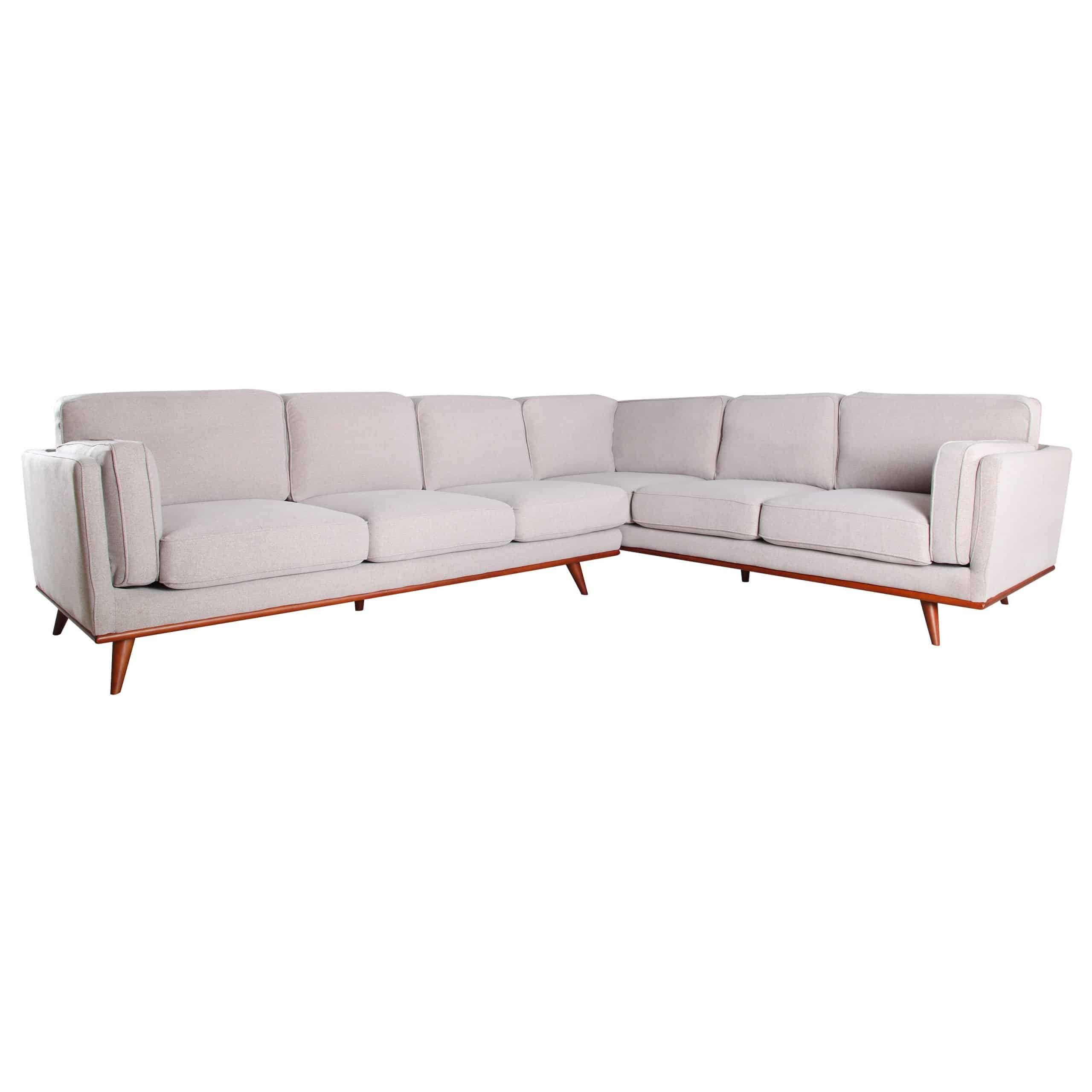 Image of: Willard Mid Century Sectional Sofa By Canary Kfrooms