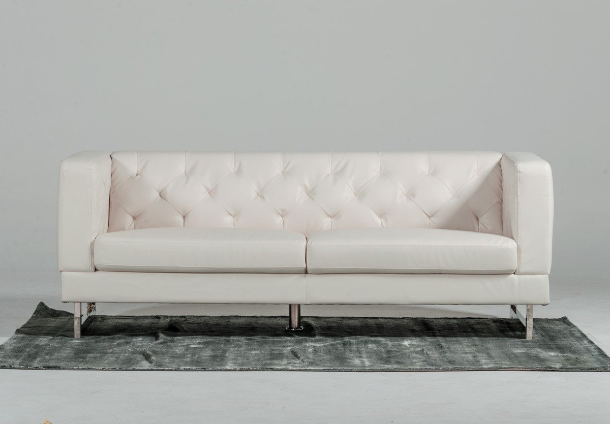 - Divani Casa Windsor - Modern White 3 Pc Sofa Set KFROOMS Sale