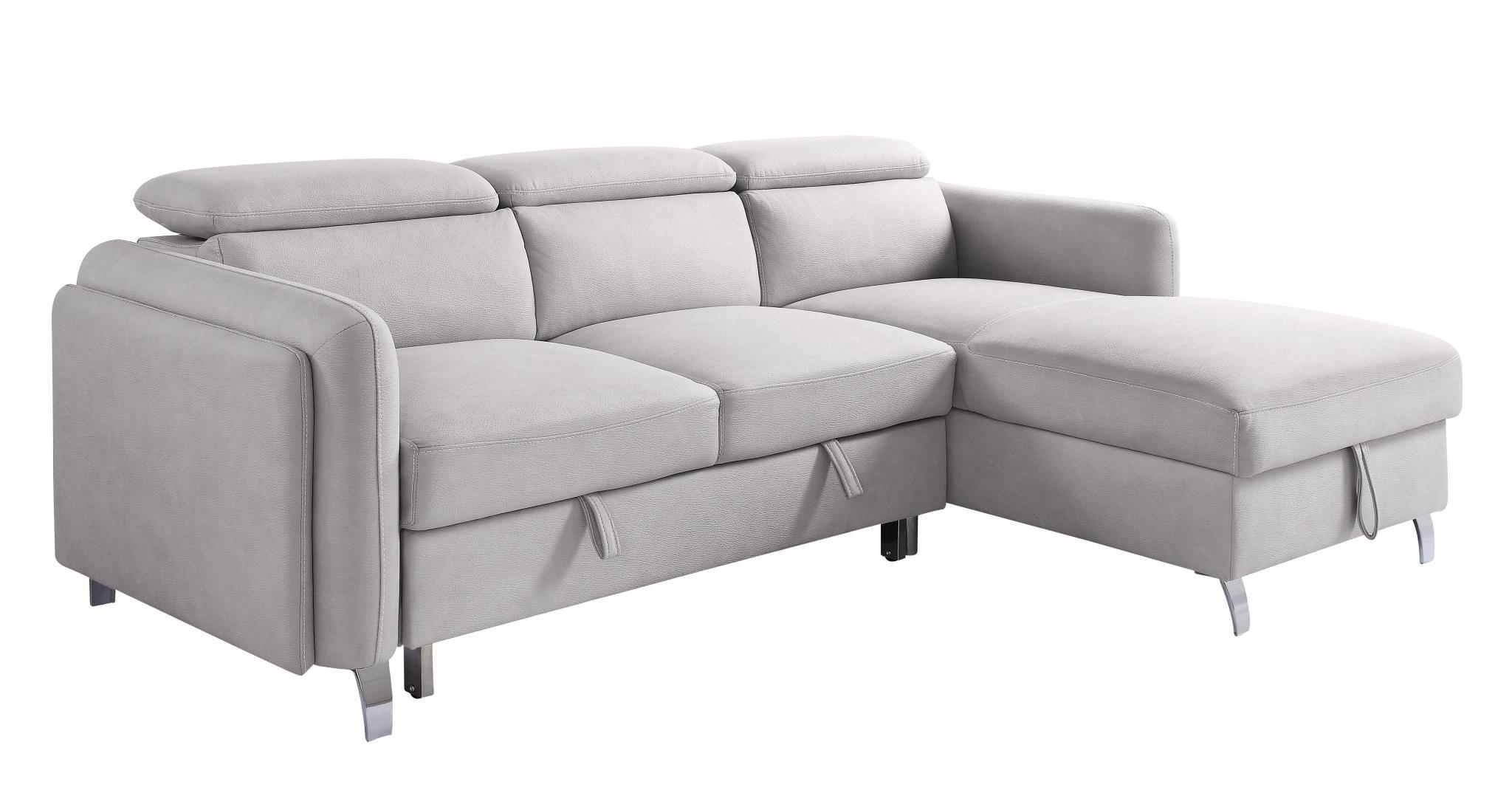 - Reyes Sleeper Sectional Sofa KFROOMS Grey Sectional Sofa Sale