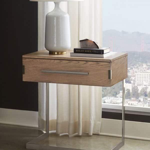 smithson metal frame nightstand ]222852