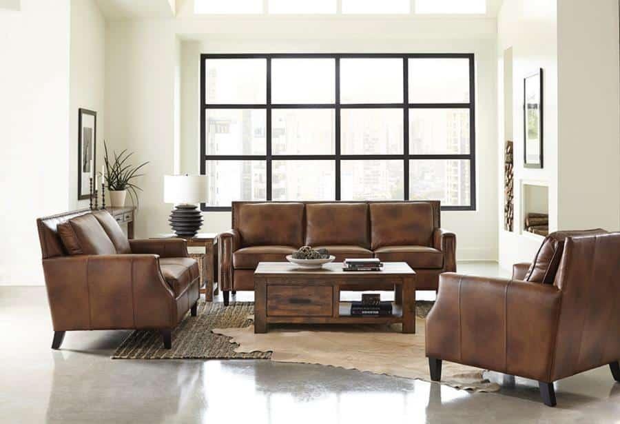 509441 leaton sofa by coaster furniture