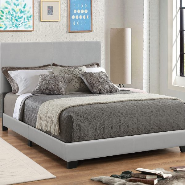 Dorian Leather Upholstery Bed