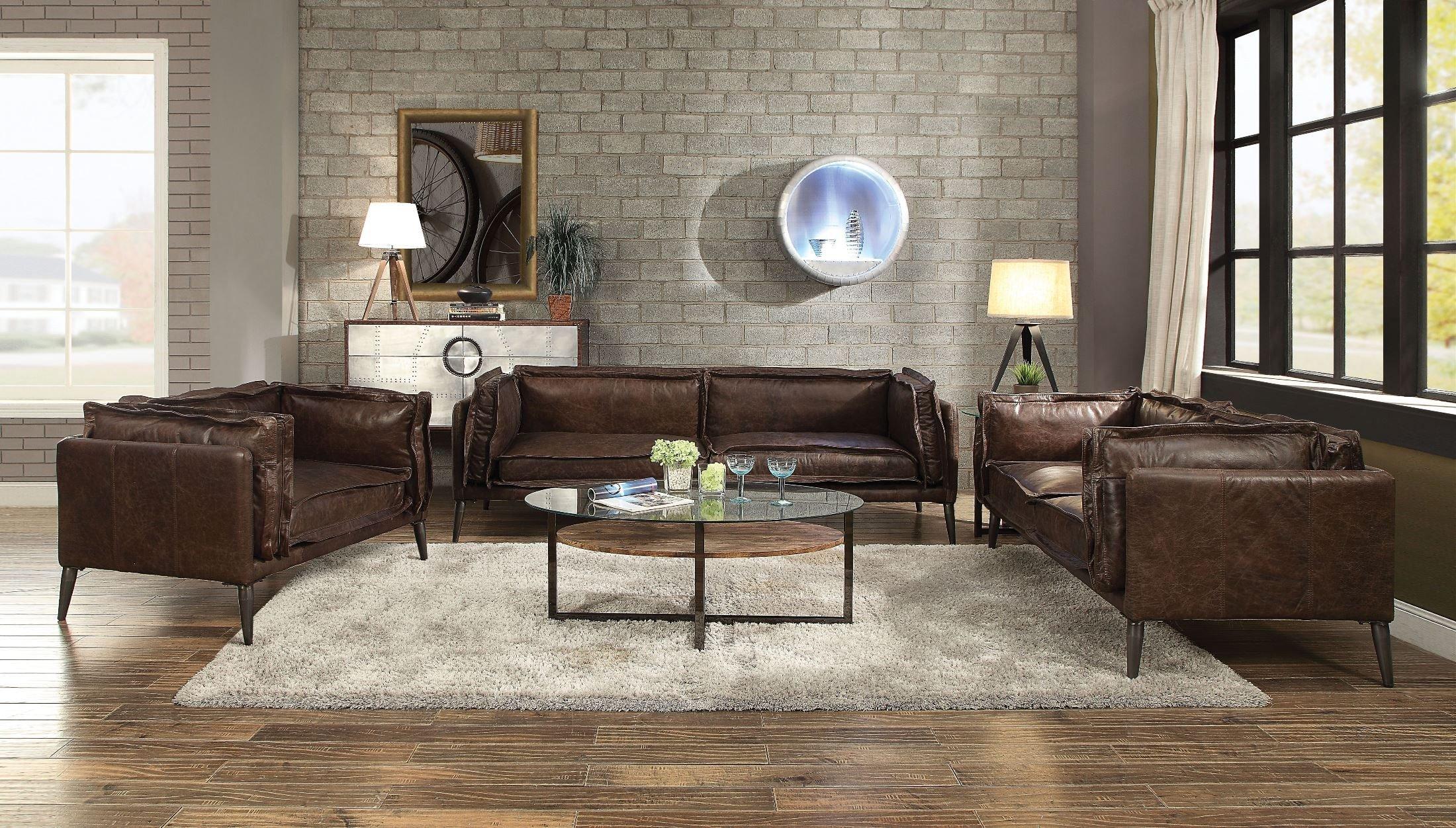 52480_52481_52482_ Porchester top grain leather sofa