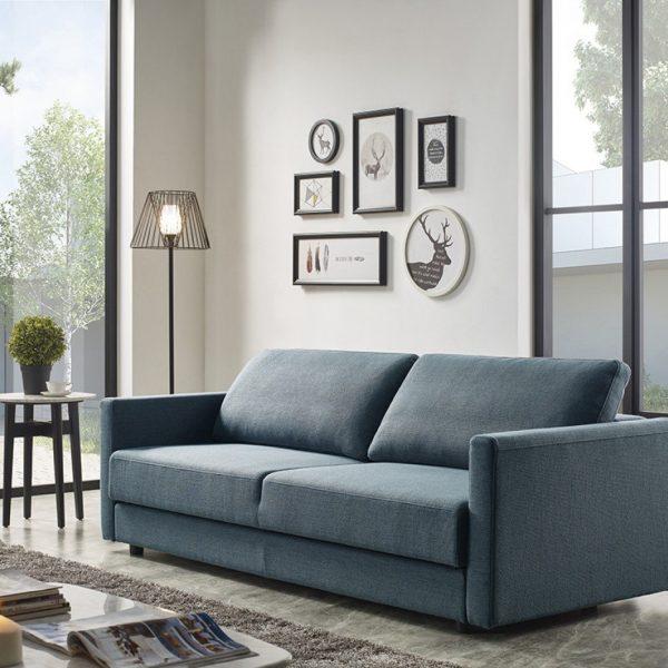 fredonia blue sofa 76063