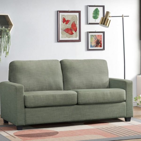 zenas-light-green-fabric-sofa-with-sleeper-by-acme-