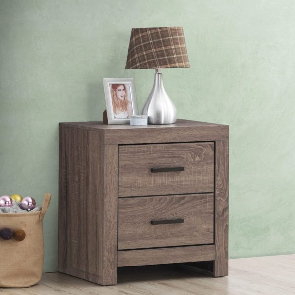 207042 brantford oak nightstand