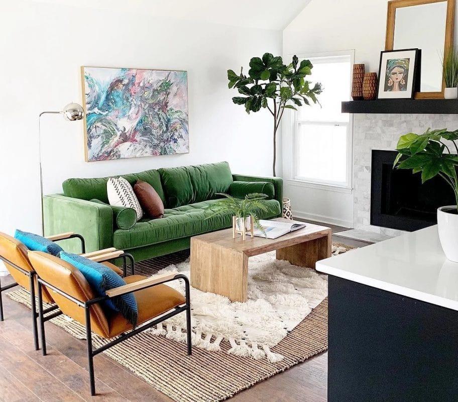 Roma Emerald Green Sofa