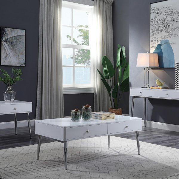 Weizor High Gloss Coffee Table