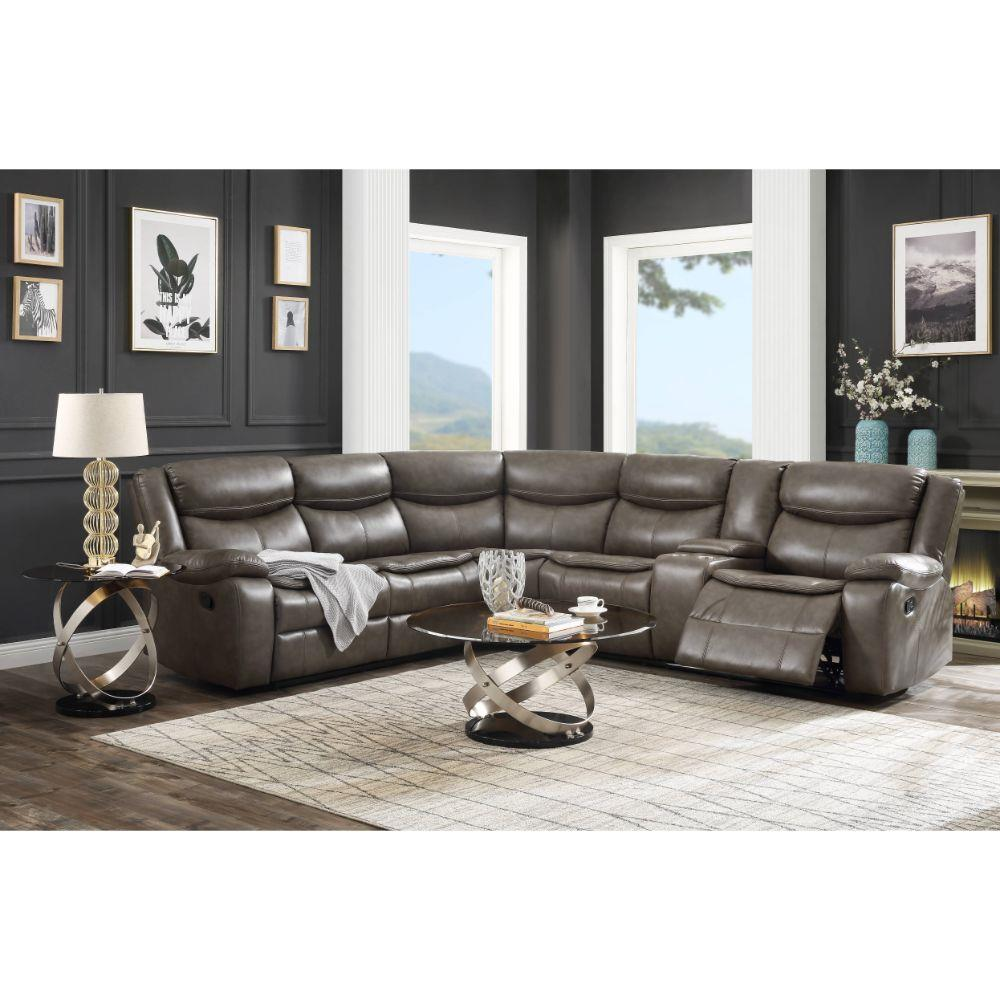 Tavin sectional sofa by acme furniture