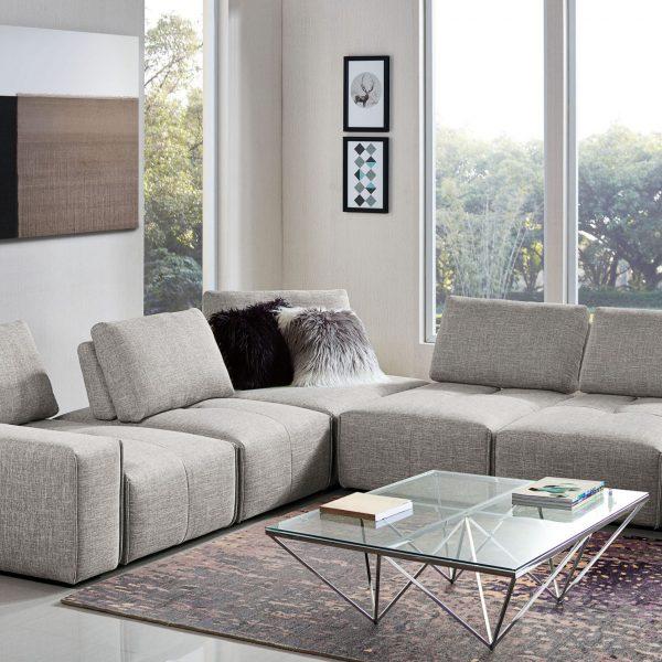 Jazz Sectional Sofa Adjustable Backrests
