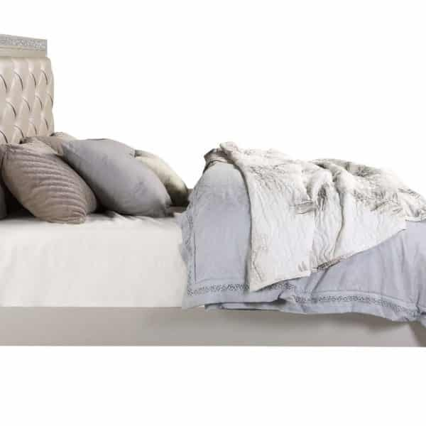 Silver Acheco Bed