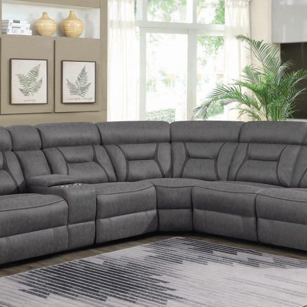 Higgins Power Reclining Sofa Set 600370