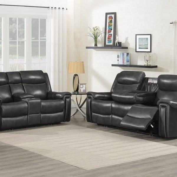Shallowford Power Reclining Sofa Set