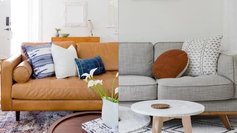 Leather vs Fabric