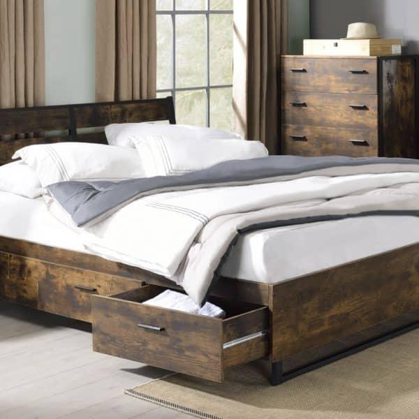 Juvanth industrial storage bed